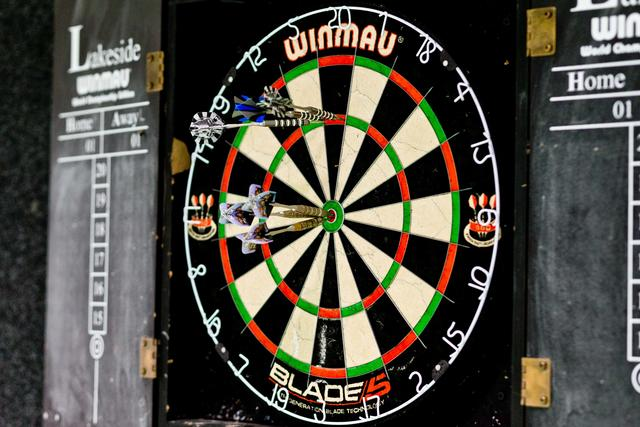 Dartboard is available