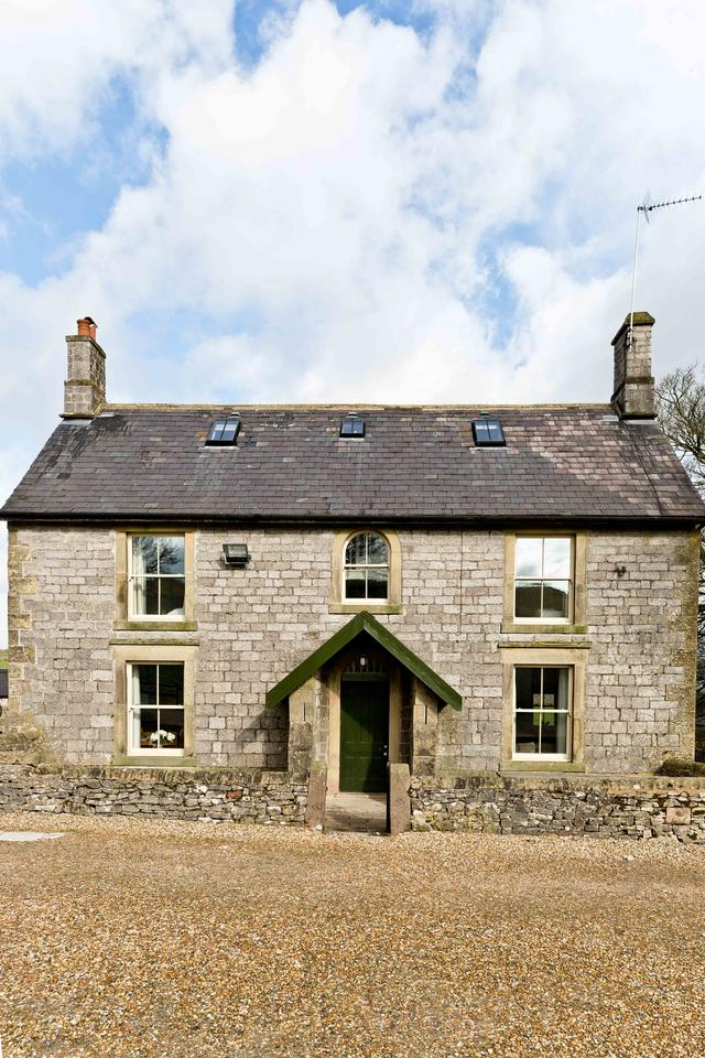 Hurdlow Grange front of the house
