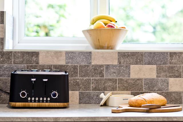 Kitchen work top view