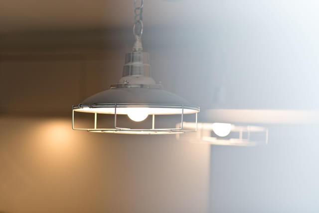 Lighting details in kitchen