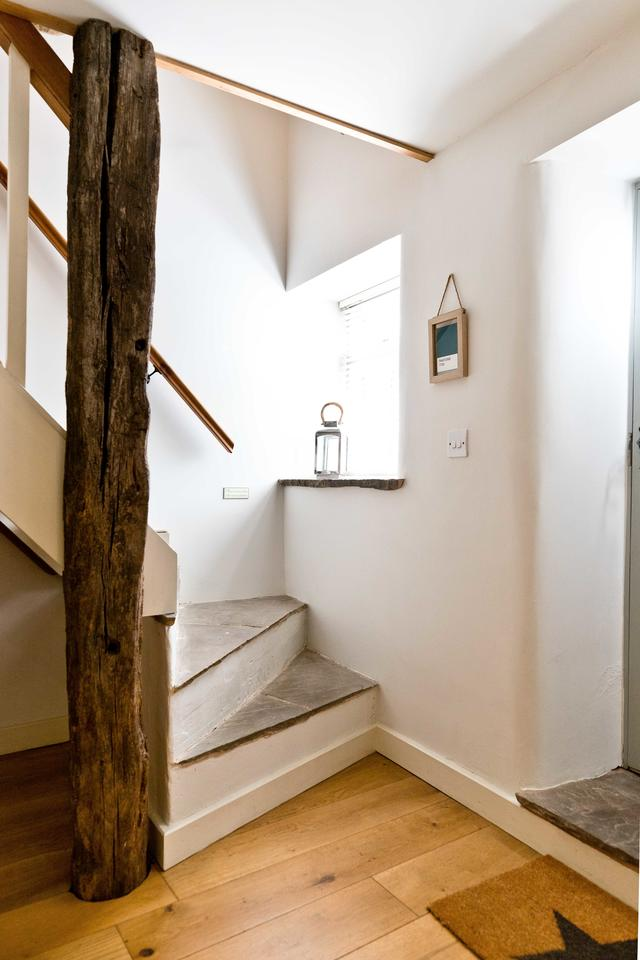 Stairs from the snug to bedroom 5