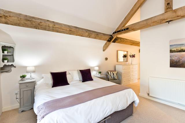 Bedroom 2 with Open beams