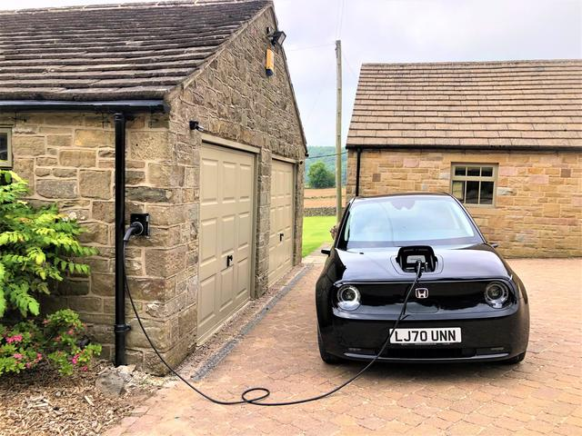7.4kW Electric Vehicle Car Charging point