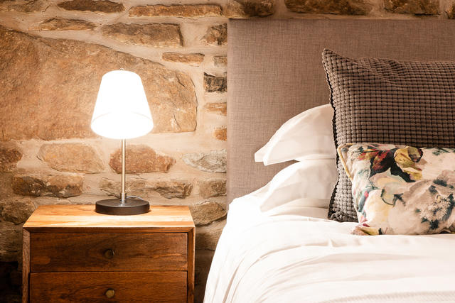 Furnishings in new bedroom